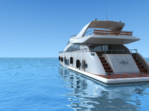 Aft Yacht Rendering